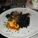 Arroz Negro con Mariscos