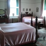 One of the bedrooms in the Great House