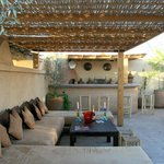 Salon terrasse barbecue