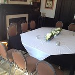 Cozy and inviting rooms to host meeting, birthday parties, anniversaries and much much more!