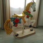 Cavallo nella suite d'angolo