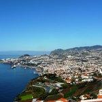 Vue sur Funchal depuis le bar