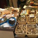 fish monger at the near market