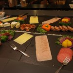 Meat and Cheese selection