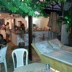Lounge do restaurante