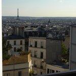 Vue de la Chambre à Montmartre