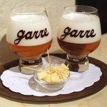 Taças com a Tripel van De Garre