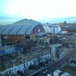 Earls court only a stone throw away