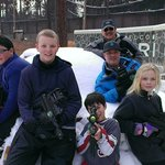Laser Tag in the snow… why not?