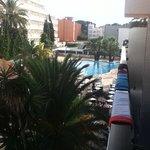 Slight pool view