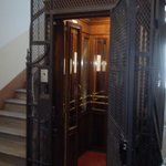 Antique lift, perfect silent working order