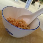 Rice with roe - interesting