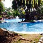 La piscina!