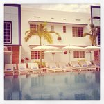 The Pool @ the Pestana South Beach Art Deco Hotel