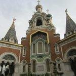 Igreja Russa cheia de detalhes!
