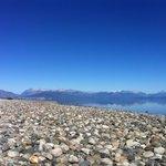 Lago Nahuel Huapi a 50 metros de las cabañas