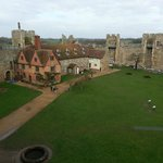 View from the battlements at Framlingham Castle