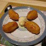 Beignets de pommes caramélisés...