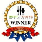 Best of Taste of Rio Rancho Winner - Best Dessert for our Tiramisu