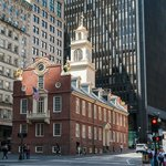 Old State House Surrounded by Moder City