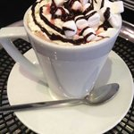 Yummy and famous Hot Chocolate made on real chocolate ;-)