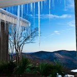 Beautiful Icicles at the Inn!