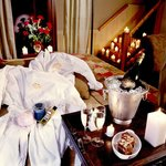 We offer many packages to make your stay extra romantic!