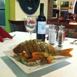 Whole Fried Snapper - one of many nightly Chef Specials