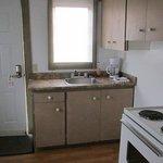 Cottage #5 kitchen