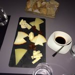 Tasty cheese platter!! Great!