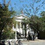 Etwas versteckt: der frühere Nationalkongress von Chile