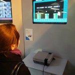 Playing the original NES Mario