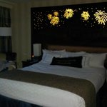 King bed with headboard