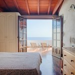 Bedroom and ocean views