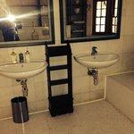 Bathroom without door