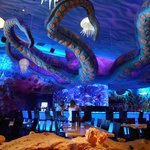 Interior of T-Rex Restaurant