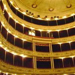Vista interna do teatro