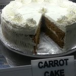 Only in Africafe! Carrot Cake is Irresistible!