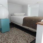 Mesanino do apartamento duplex