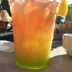 rum punch at Flippers