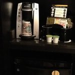 Keurig Coffee Maker & Refrigerator