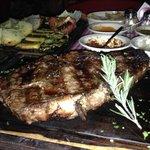Rib Steak & Vegetables