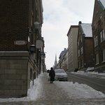 Hostel's street