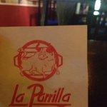 """La Parrilla"" .. This is how it's spelled."