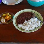 Wholesome homecooked meal on Eladio's Cacao Tour