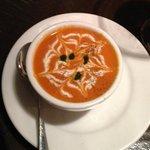 tomato, fennel soup