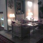 Cosy corner in reception area