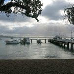 Handy to ferry wharf if coming over from Paihia