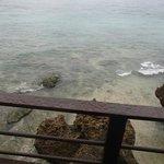 View fm balcony The Studio, crystal clear sea
