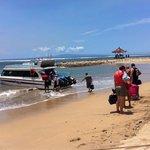 From sanur to lembongan island!!!